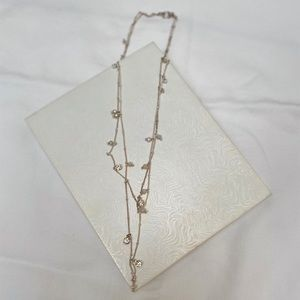 Crystal and Quartz Layering Necklace